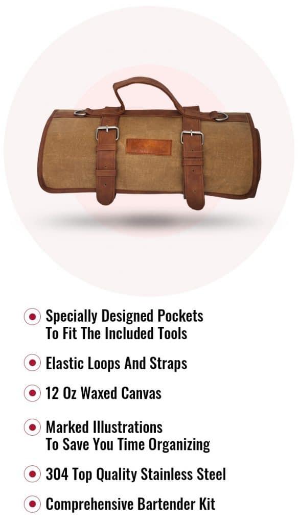 bartender kit bag
